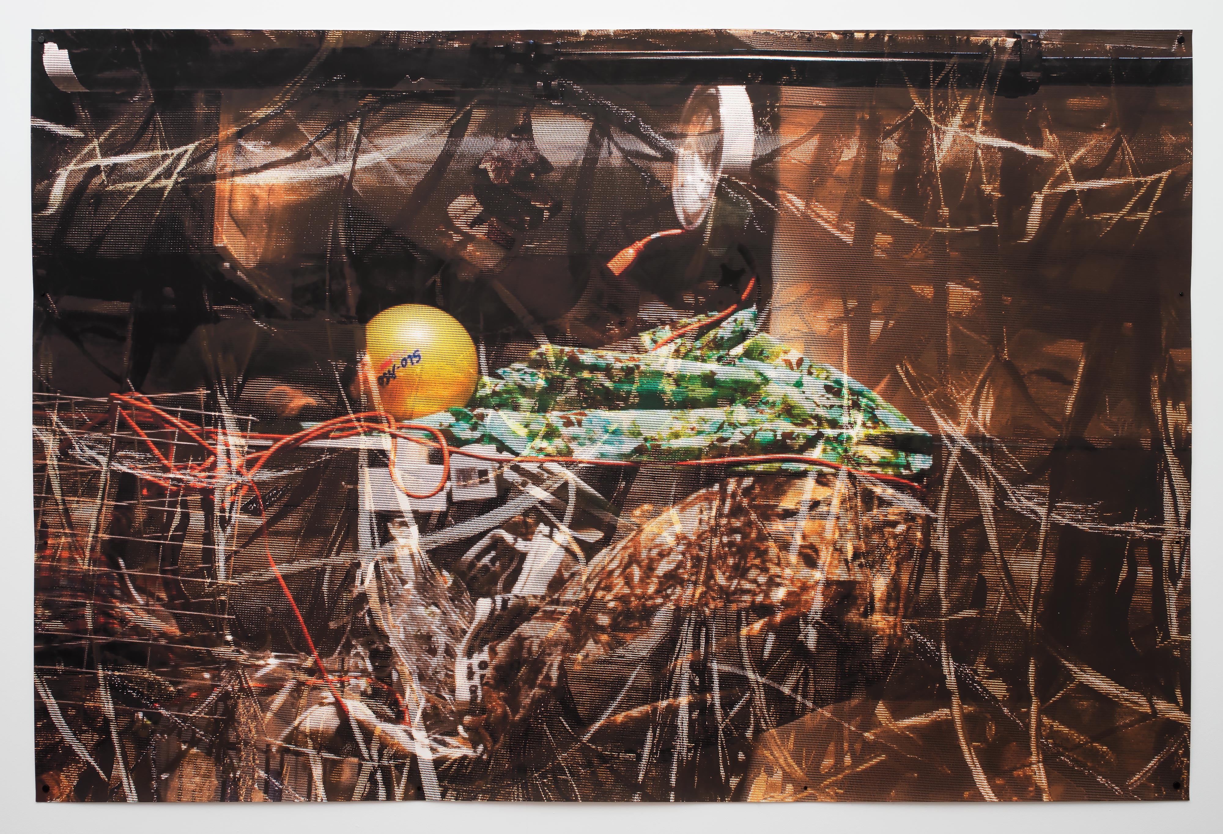 ELLEN BROOKS<br>Untitled (levitation)<br>2016<br>Digital pigment print<br>58 x 87 in (147 x 221 cm)