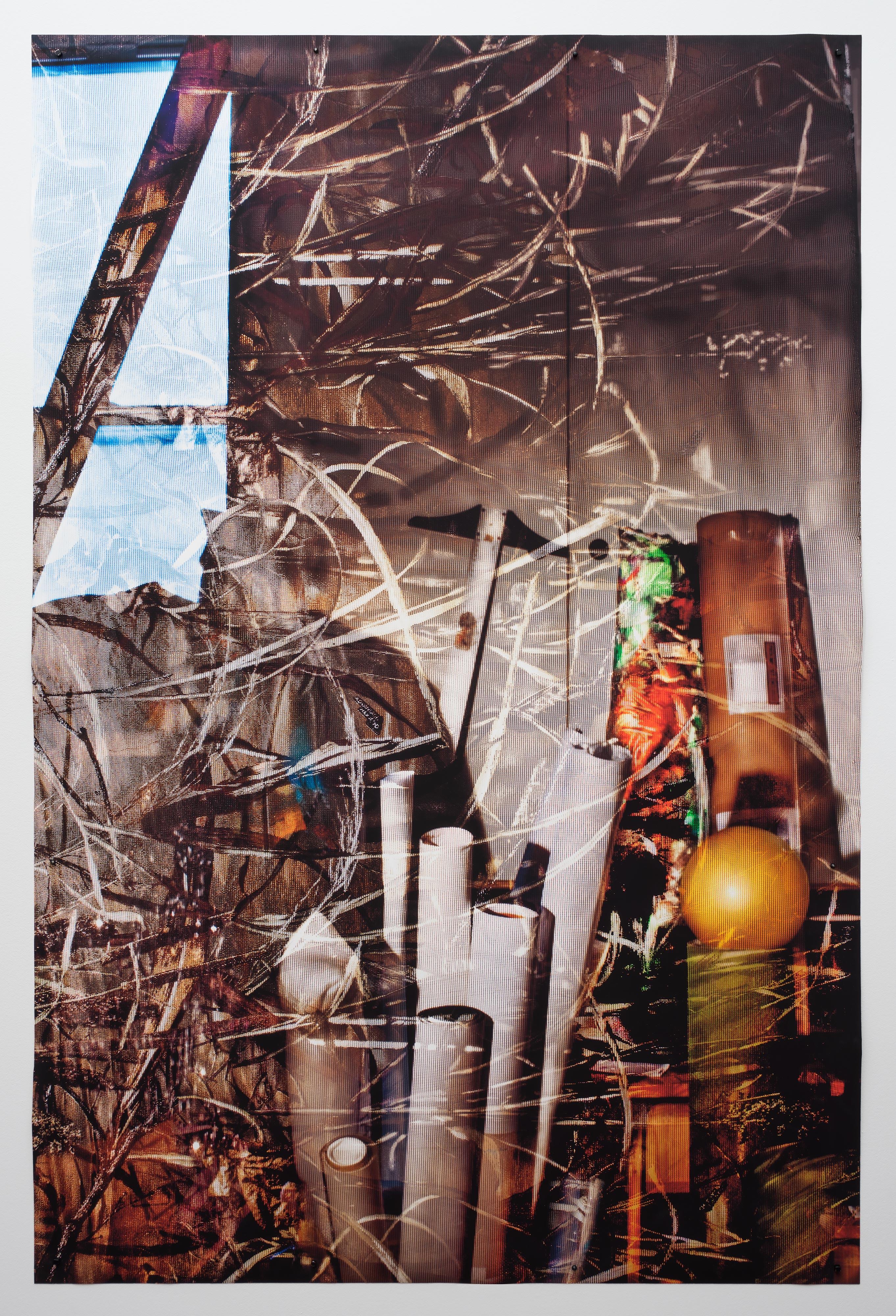 ELLEN BROOKS<br>Untitled (tubes)<br>2017<br>Digital pigment print<br>60 x 40 in (155 x 102 cm)