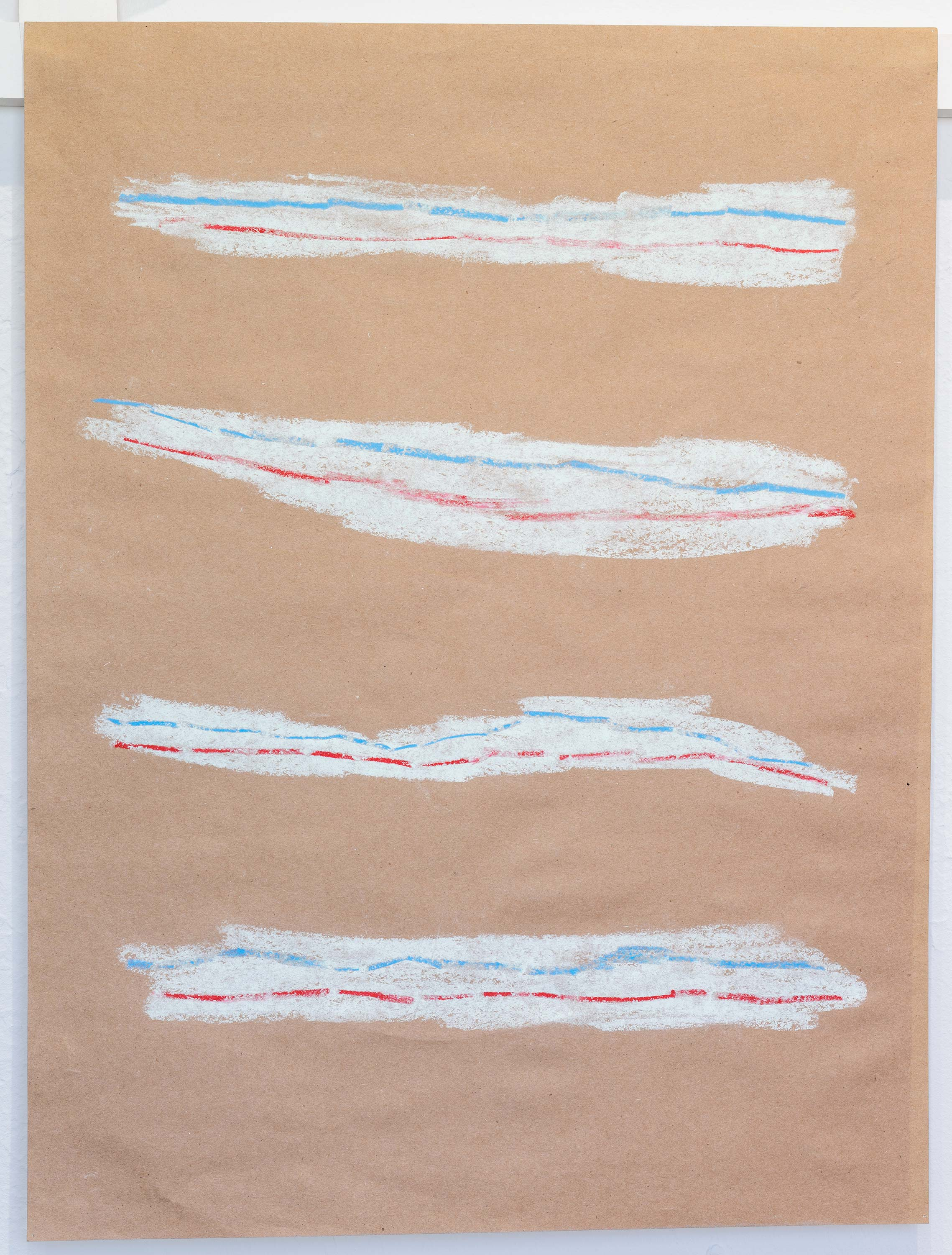 Al Freeman<br>Toothpaste 1<br>2015<br>Graphite and oil pastel on paper<br>18 x 24 inches (46 x 61 cm)
