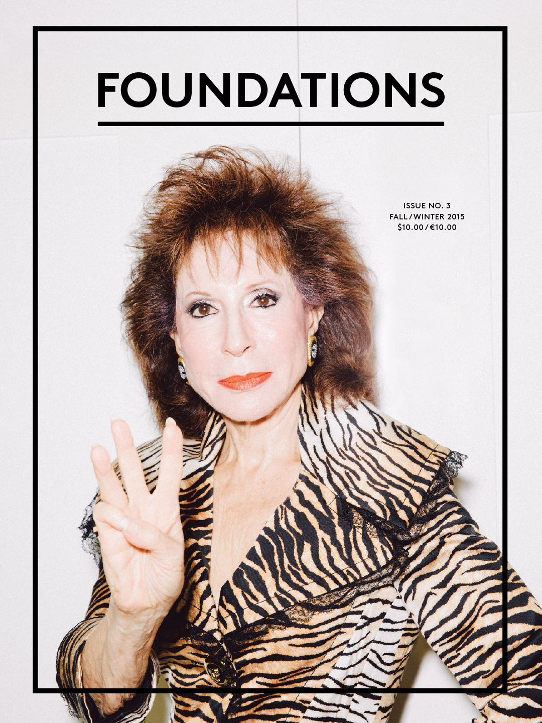 Issue 3 Cover: Florine Mark