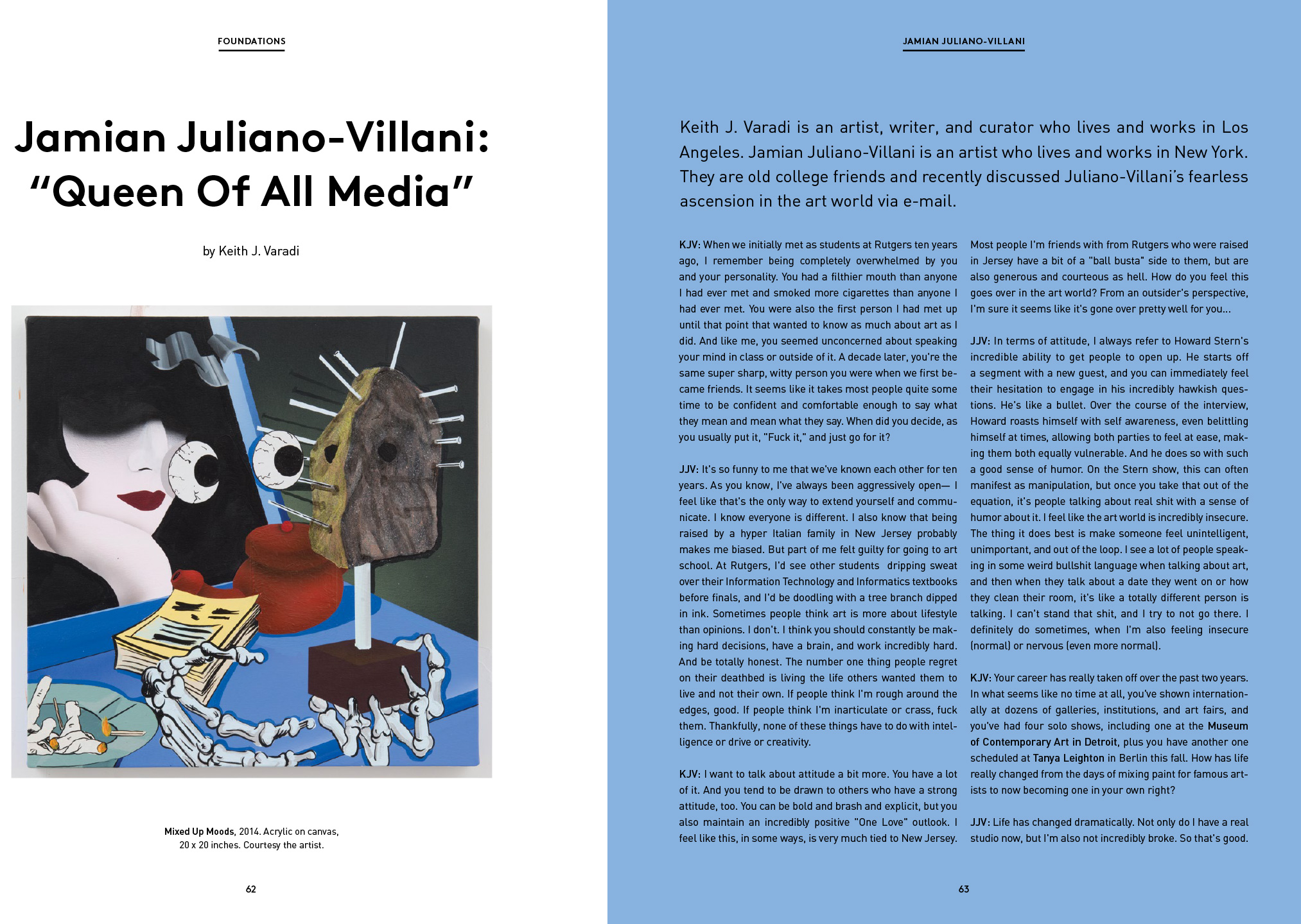 "Jamian Juliano-Villani: ""Queen Of All Media"" – Keith J. Varadi"